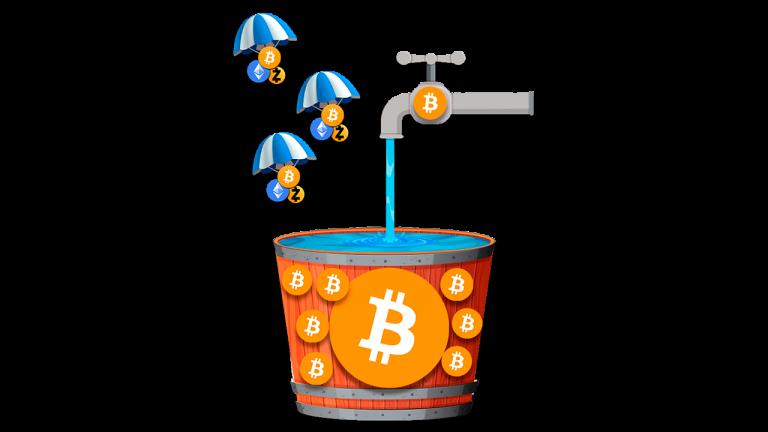 faucets y airdrops para ganar criptomonedas 2020