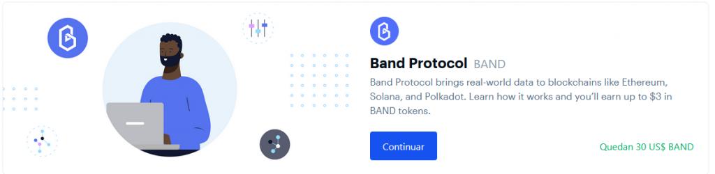 Band coinbase