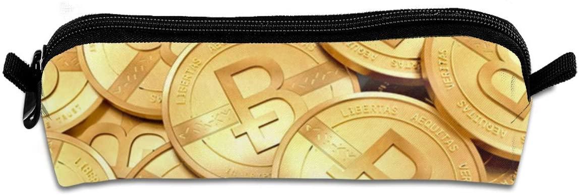 estuche académico logo bitcoin