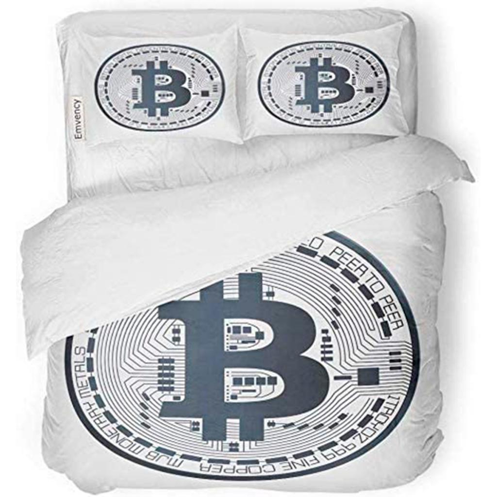 Juego de ropa de cama bitcoin