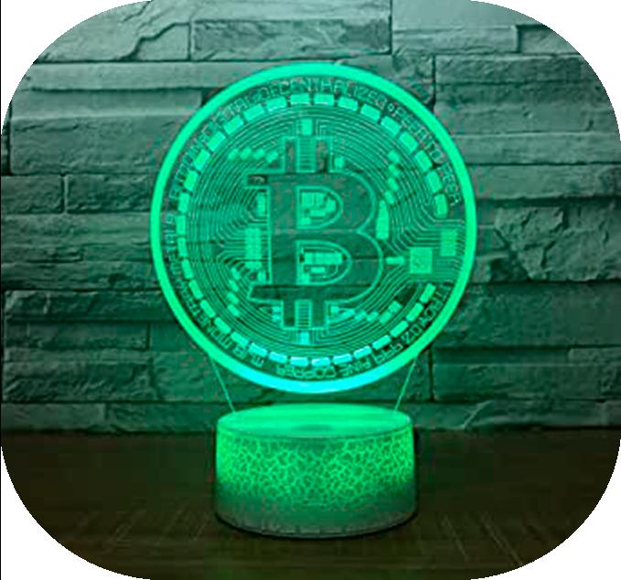 lampara bitcoin logo