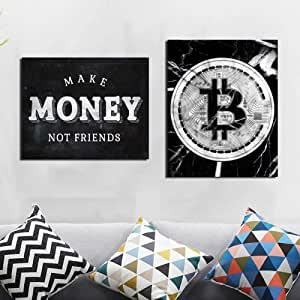 posters e ilustraciones bitcoin y criptomonedas