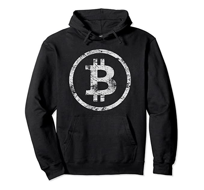 Sudadera logo bitcoin