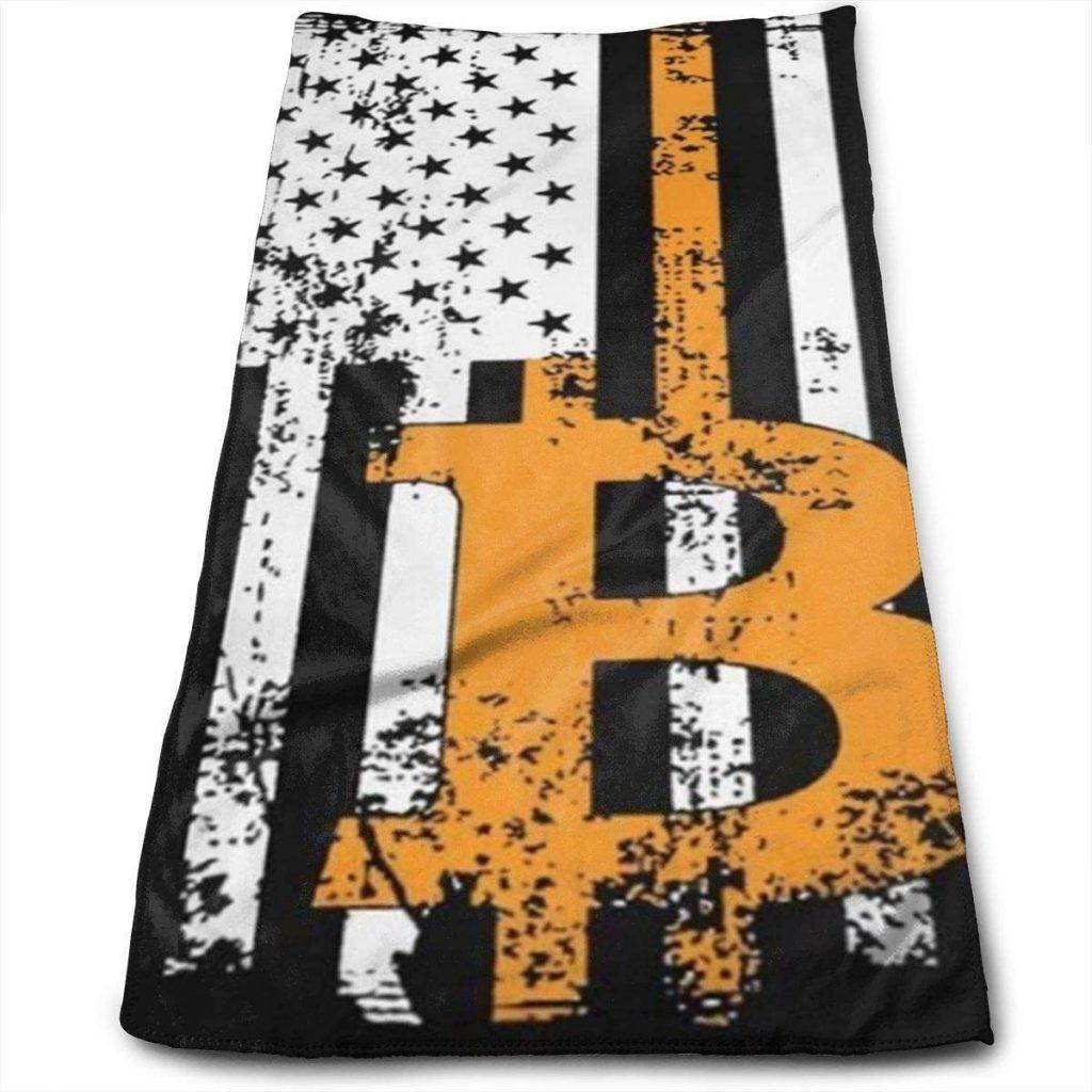 Toalla bitcoin