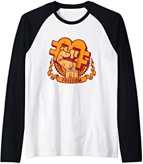 camiseta manga larga bitcoin