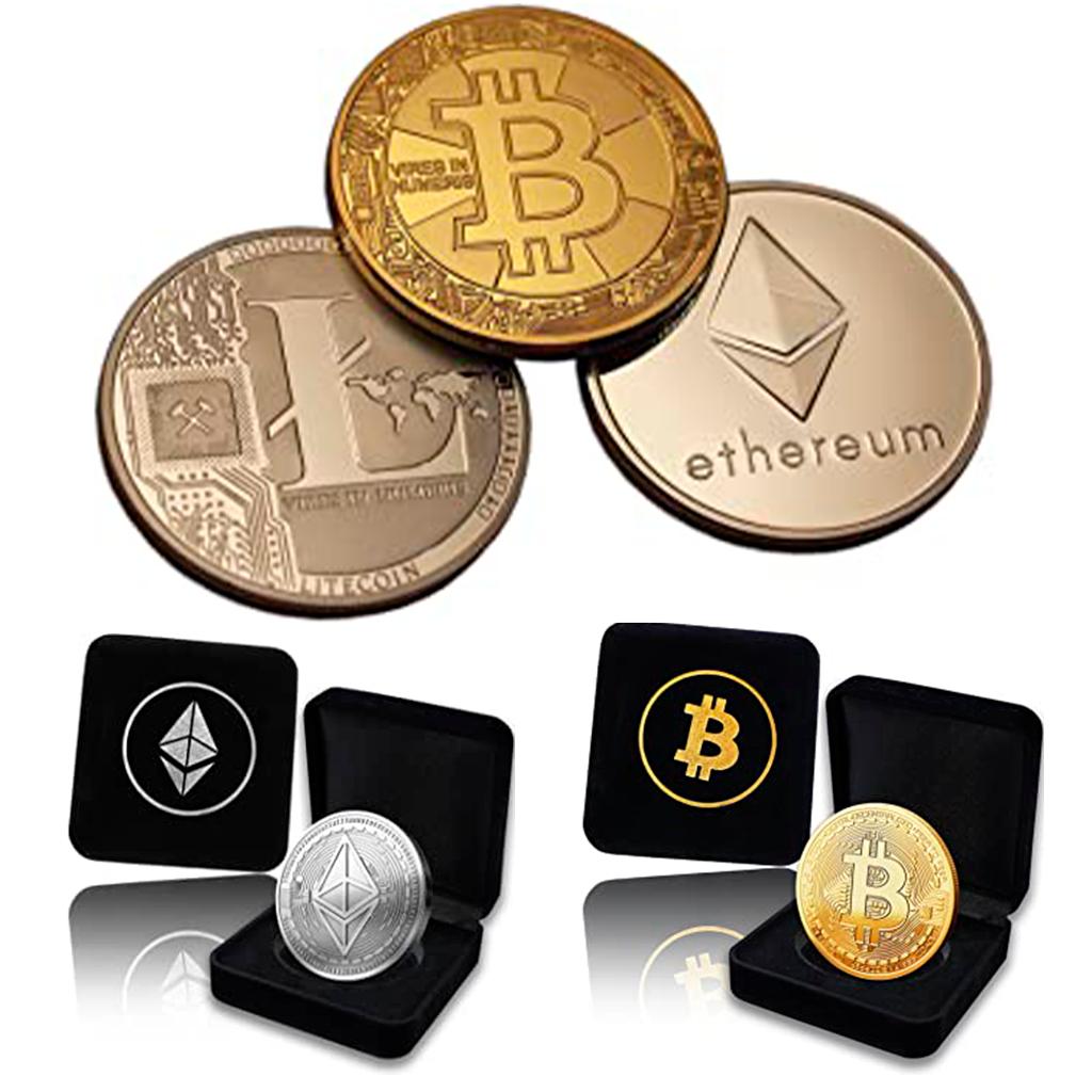 monedas físicas bitcoin y criptomonedas