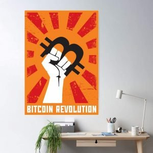 Poster bitcoin revolution