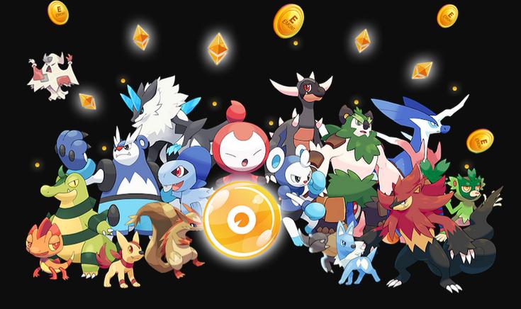 Ethermon Pokemon en Ethereum y decentraland NFT