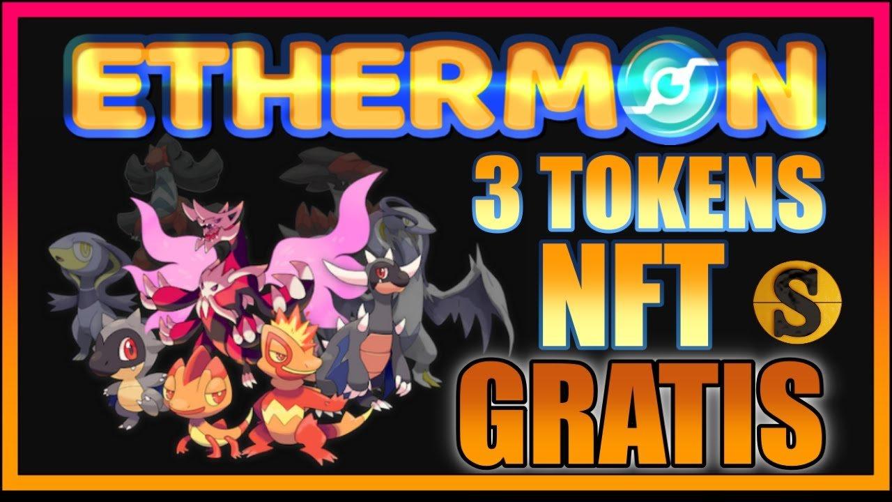 Ethermon juego pokemon blockchain
