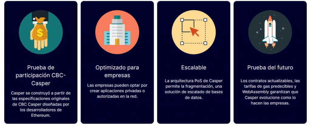 Tecnología Casper Network