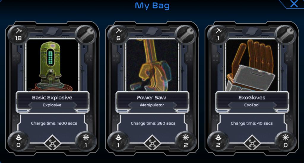 Alien worlds bag