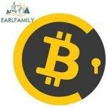 pegatina bitcoin criptomonedas