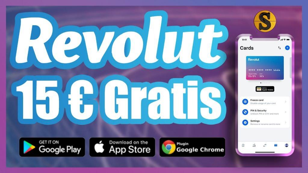 ¿Cómo crear una cuenta en Revolut? 15€ Gratis