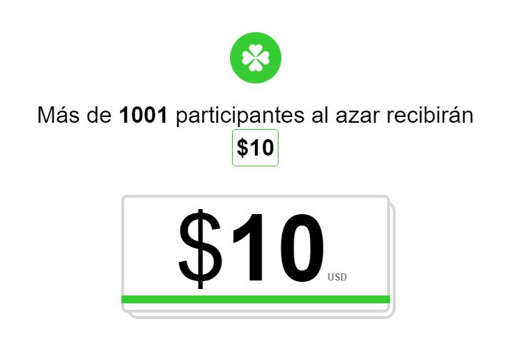 Los premios oscilan entre 400 y 3000 $, no te lo pierdas!!