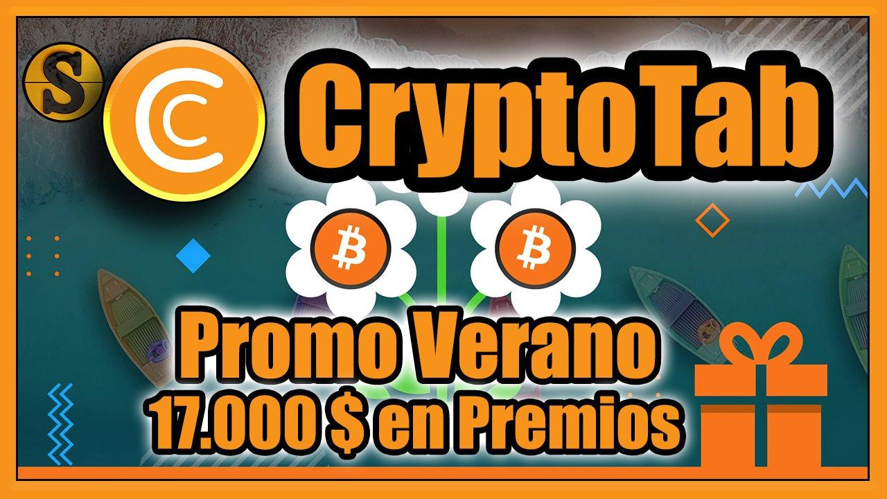 CryptoTab Gana Bitcoin por navegar en internet